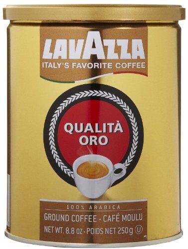 Qualita Oro, 100% Arabica Ground Coffee Espresso, 8.8 oz (250 g)