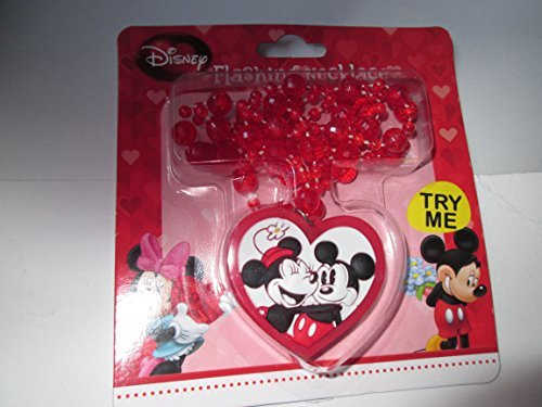 Mickey & Minnie Flashing Necklace