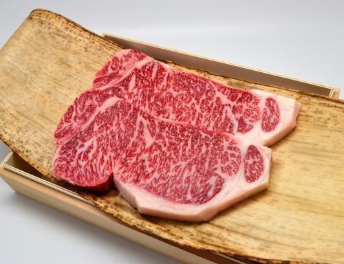 松阪牛 サーロイン ステーキ 200g×2枚 桐化粧箱入り ギフト ステーキソース、スパイス付 A4 A5 特産
