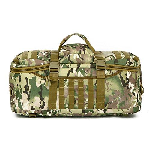 Grande capacité sac de camouflage militaire / sac tactique / sac de toile sac / extérieur-4 60L