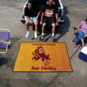 Fanmats Home Indoor sports Team Logo Mat Arizona State Tailgater Rug 6072 by Fanmats