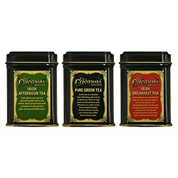 Connemara Kitchen 3 Set Of Mini Tea Tins