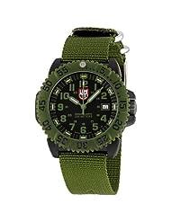 Luminox Men's 3041 Quartz Black Dial Carbon Reinforced Polycarbonate Watch