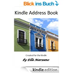 Kindle Address Book with Grocery List