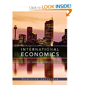 International Economics  by Dominick Salvatore