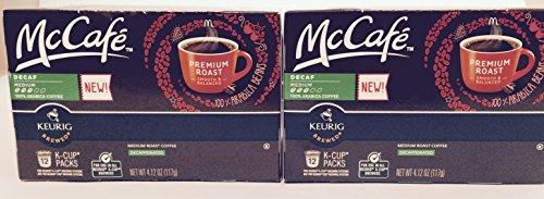 Mccafé Decaf Premium Roast K-cup Packs, 4.12 Oz - 12 Count (2-pack) = 24 Total Count (Keurig Mccafe Decaf compare prices)
