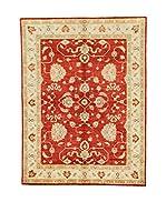 Eden Carpets Alfombra Zeigler Rojo/Beige 196 x 146 cm