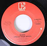 Queen 45 RPM Spread your wings / Crazy little thing called love