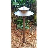 Westgate LED Pagoda Lights-12V Landscape Lighting Antique Bronze Finish