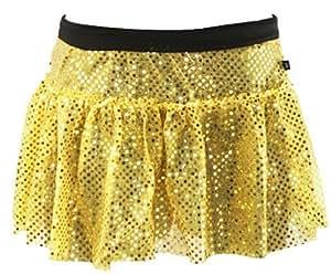 Yellow Sparkle Running Skirt XS