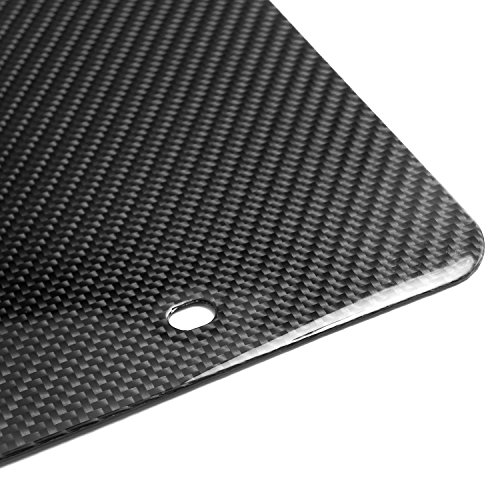 genuine hand made carbon fiber glossy blank auto license plate vehicles parts vehicle parts. Black Bedroom Furniture Sets. Home Design Ideas