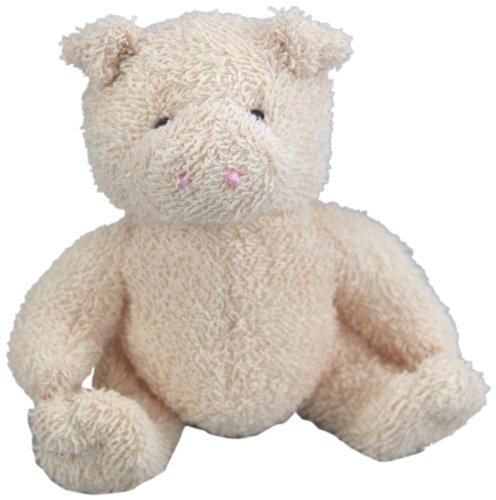 "Purr-Fection Peter Pig 6"" Plush"