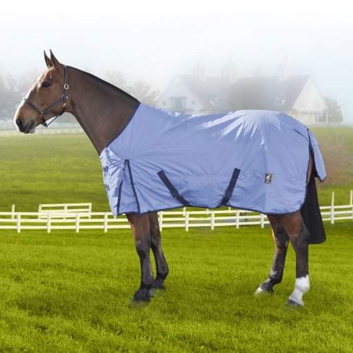 Derby House Essentials Lightweight Standard Turnout (Cornflower/Eclipse, 6ft)