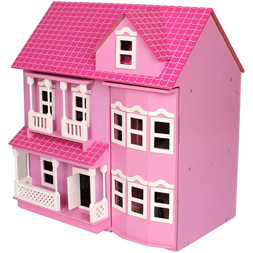 mamakiddies-victorian-wooden-doll-house-furniture-and-dolls-pink