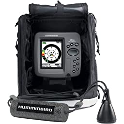 Humminbird Ice 386CI Combo Fishing System, Black