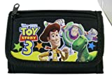 Disney Black Trifold Buzz and Woodys Adventure Toy Story Wallet - Kids Toy Story Wallet
