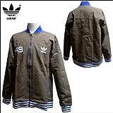 adidas Originals (アディダス オリジナルス) 【メンズ】 ナイロンジャケット Academy Crest Jacket Lサイズ (GREYBLEND/CHALK2) X32711
