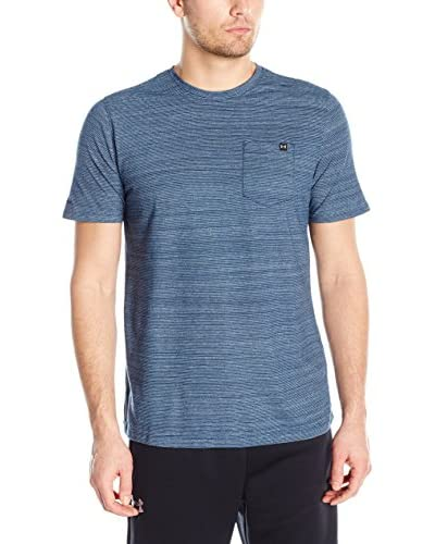 Under Armour T-Shirt Charged Cotton Ss Pocket T petrol