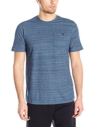 Under Armour Camiseta Manga Corta Charged Cotton Ss Pocket T (Azul Petróleo)