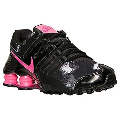 low priced 95ac6 9ea99 Women Nike Shox Navina Black Vivid Pink White