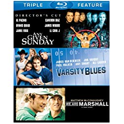 Football: Triple Feature [Blu-ray]