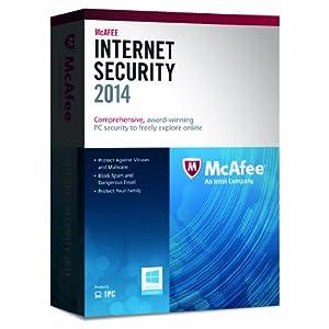 McAfee Internet Security 2014 - 1 User (PC)
