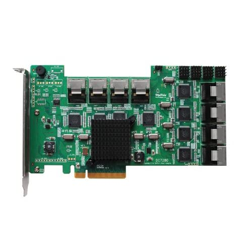 HighPoint-DataCenter-7280-Internal-32-Port-PCI-Express-2-0-x8-SATA-II-Controller