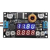 DROK® Numerical Control Voltage Regulator DC 5-32V to 0-30V 5A Buck Converter, 24V 12V to 5V Step Down Power Converter Adjustable Digital Control Voltage Reducer with LED Ammeter Voltmeter Display