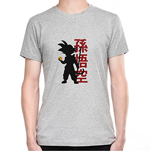 Son-Goku-Hoding-Dragon-Ball-Camiseta-Para-Hombre-XX-Large
