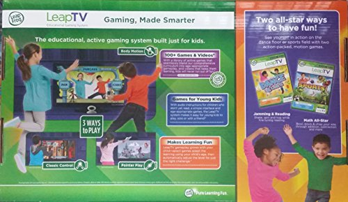 LeapFrog-LeapTV-Educational-Gaming-System-including-2-Best-selling-Leap-TV-Cartridge-Games