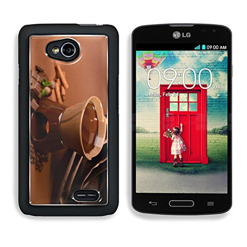 MSD Premium LG Optimus L70 Dual Aluminium Backplate Snap Case Chocolate fondue on brown background Image ID 23886979 (Fondue Dual compare prices)