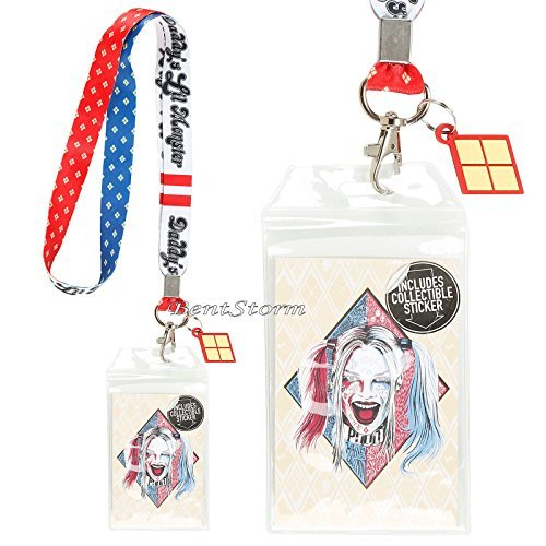 DC Comics Suicide Squad Daddy Lil Monster Harley Quinn Lanyard ID Card Holder by DC Comics