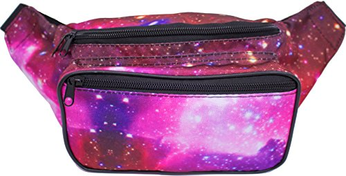 SoJourner Bags Outer Space Galaxy Rave Festival Fanny Pack (Pattern Fanny Pack compare prices)