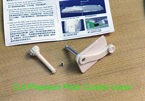 Summitlink® DJI PHANTOM TRANSMITTER TX CH7 PITCH CONTROL SLIDE LEVER Gimbal Tilt JI-PHTXSL