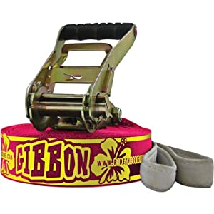 Gibbon Slacklines Ladies Line 15M Slackline Kit