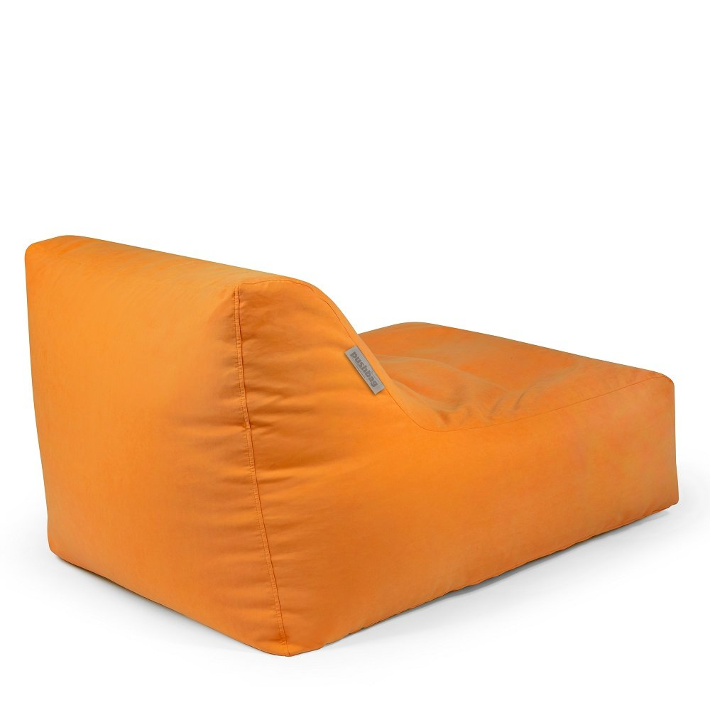 Pushbag Sitzsack Chair aus Soft (Polyester), 90x120x35cm, 450l, orange bestellen