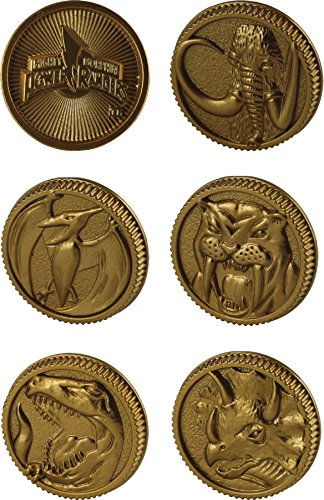 Power Rangers Legacy Die-Cast Coin Set Assortment (Power Ranger Power Coins compare prices)