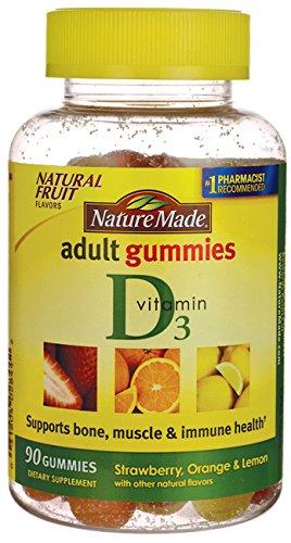 Nm Adult Gummies Vit D3 Size 90ct Pv Adult Gummies Vit D3