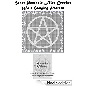 Filet Crochet: Crochet Filet Pentagram Free Pattern Chart
