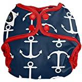 Imagine Baby Products Newborn Snap Diaper Cover, Overboard