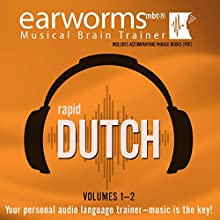 Rapid Dutch: Volumes 1 & 2  by Earworms Learning Narrated by Andrew Lodge, Marti van Bommel