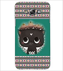 PrintDhaba Kitty D-3685 Back Case Cover for SAMSUNG GALAXY GRAND 3 (Multi-Coloured)