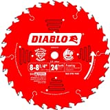 Freud Inc D0824X Diablo Carbide Tipped Table, Miter, And Radial Arm Saw Blade