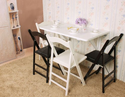 Fwt06 w table murale rabattables table de cuisine pliante - Table rabattable murale cuisine ...