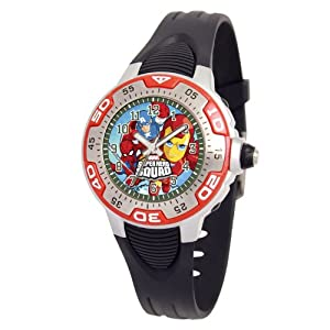 Marvel Comics Kids' MA0108-D537-Red Marvel Super Hero Squad Spectrum Watch