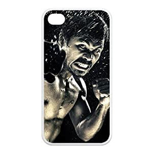K.O. Manny Pacquiao The Amazing Boxer at a Battle Personalized Apple iPhone 4 4s TPU case cover