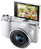 Samsung NX3000 Wireless Smart 20.3MP Compact System Camera with 16-50mm OIS Power Zoom Lens a