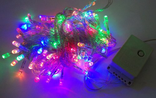 Willlight 8 Modes 10M 100 Led String Fairy Light For Wedding Christmas Party Holiday- Multi-Color