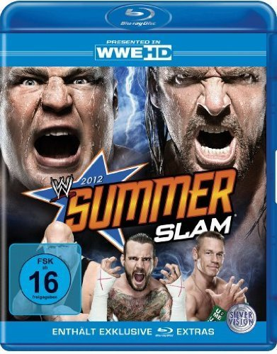 Wwe-Summerslam 2012 (Blu-Ray [Import allemand]
