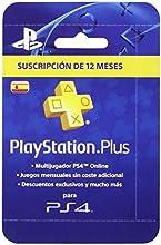 PlayStation Plus - Tarjeta de Suscripción de 12 meses